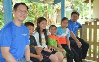 Visitation to Kampung in Ranau