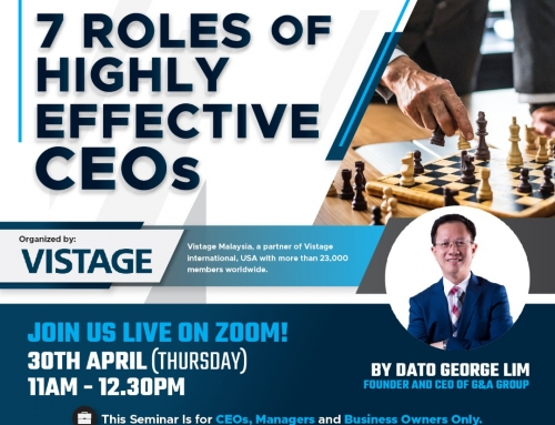 7 ROLES OF HIGHLY EFFECTIVE CEO's